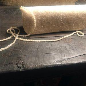 Vintage La Regale Beaded Ivory Bag